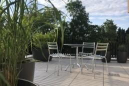 Gartentisch und Gartenstühle von manufakt