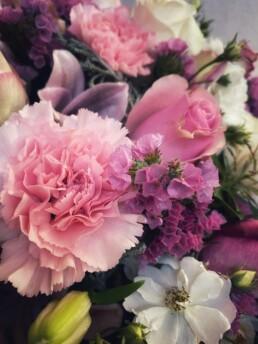 Detail rosa Herz