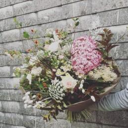 Blumenstrauss weiss/rosa