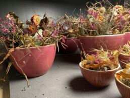 Herbstliche Tischdekoration