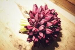 Mono-Brautstrauss aus Tulpen
