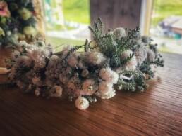 Blumenarmband Trauzeugin