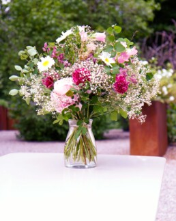 Blumenstrauss Rosenrot