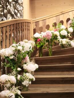 Blumenmeer Treppe