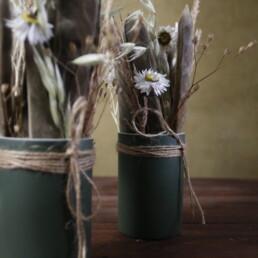 Wisteria mit Trockenblumen