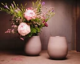 Blumenstrauss mit Vase