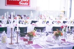 Hochzeitsdeko in Stein