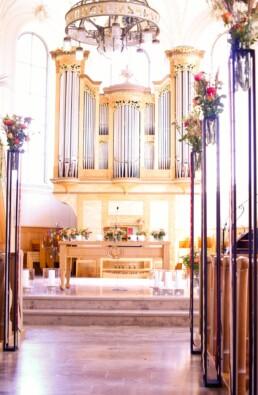 Deko auf Altar