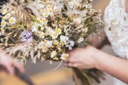 natürlicher Brautstrauss