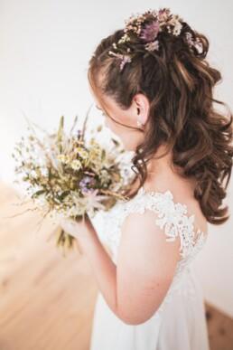 Brautstrauss mit Braut
